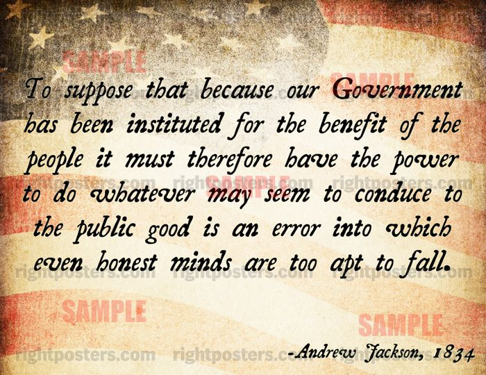 an introduction to the politics of historical andrew jackson Reading the introduction, one can get a sense of what direction the book will be heading: a very orthodox, unoriginal look at andrew jackson this is mainstream history, with all of it's unexamined assumptions and erroneous conclusions the concept of nullification is laughed at and presidents are rated not by their fidelity.