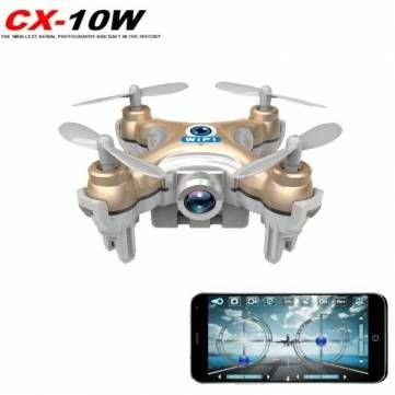 Cheerson CX-10W CX10W Mini Wifi FPV With 720P Camera 2.4G 4CH 6 Axis LED RC Quadcopter #Banggood #Toys