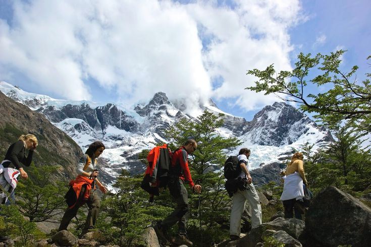 Hiking Torres Del Paine Patagonia action adventure travel vacation