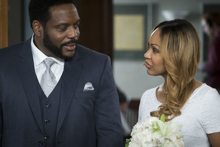 """Photos from """"Spousal Privilege"""" Photos from Law & Order: Special Victims Unit on NBC.com.1608. Chad Coleman as AJ Martin,Meagan Good As Paula."""