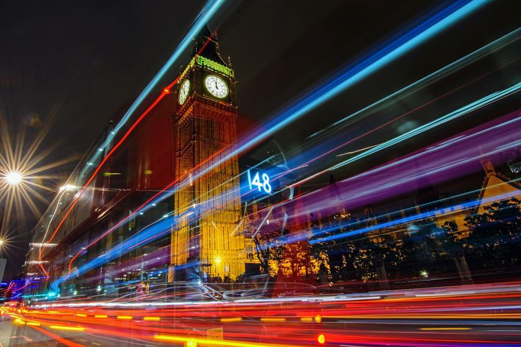 https://flic.kr/p/vb4K2z   Big Ben Late night Long Exposure (Bus Number 148 was here)   Just as the title says, this is a late night long exposure image of Big Ben,in London, June 2015.  And there's also the ghost of Bus Number 148...