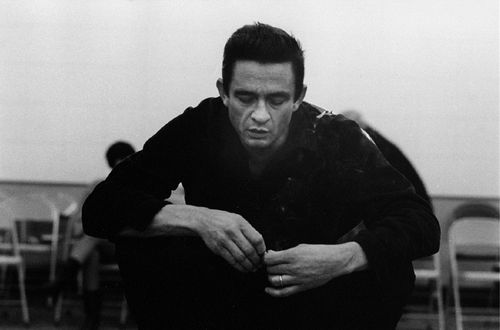 """I'd like to wear a rainbow every day, and tell the world that everything is o.k. But I'll try to carry off a little darkness on my back. Until things are brighter, I'm the Man in Black."" ~Johnny Cash"