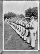 [Militaire parade in Soerabaja]
