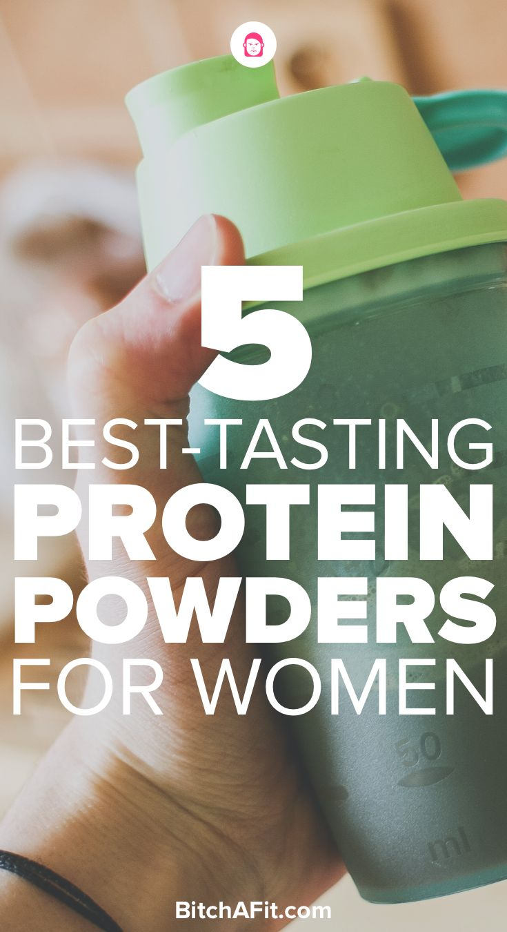 We all need to get more protein into our lives and taking protein powder is one of the best ways to lose weight and build lean muscle mass. Here are the 5 best-tasting protein powders for women.