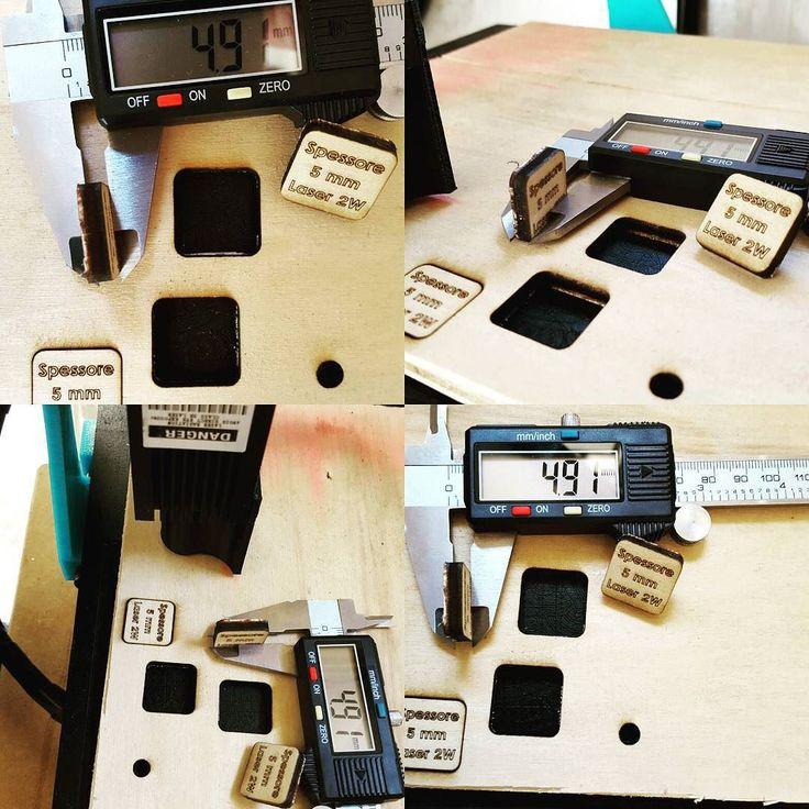 Taglio legno 4.91mm con Laser 2W  #cncmachining #cnc #cncc #thingiverse #custommade #3dprint #make #makeraddictz #3d #laser #madeinitaly #3dcustomcase #nema #ingegneria #meccanica #arduino #shield #creative #personal #personalised #autocostruzione #lasercut #mydesign by marco_break