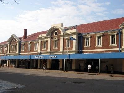 Bulawayo Railway Station.