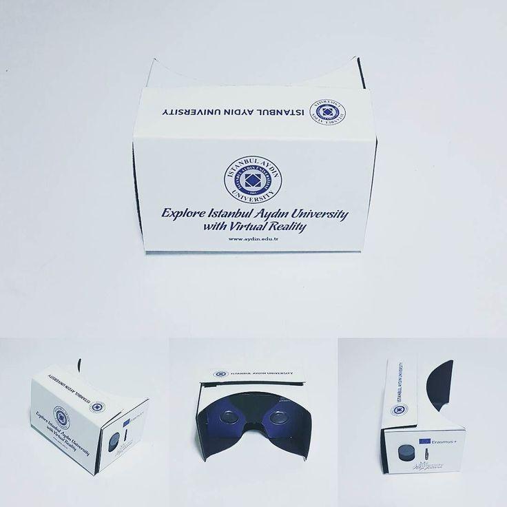 An awesome Virtual Reality pic! #AydinÜniversitesi için @voovrar tarafından üretildi.    Kurumlara özel #LogoluCardboard #SanalGerçeklikGözlüğü #360video #MobilUygulama hizmetlerini bir arada alabileceğiniz firmalardan @voovrar Türkiye'de 2015 yılının ilk çeyreğinden itibaren #cardboard #sanalgerçeklik gözlükleri üretim ve satışını en fazla gerçekleştirmiş olan firmadır.  #AkilliGozluk #3Dsanalgozluk #vr #virtualreality #vrheadset #vrgame #360video #istanbul #telefonaksesuar…