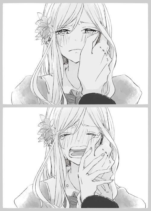 We Heart It Manga AnimeSad