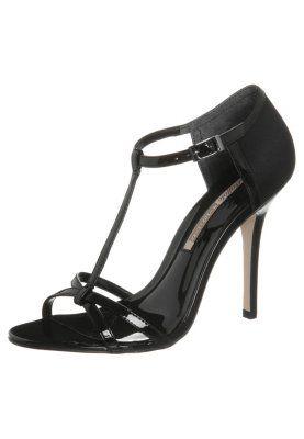 Sandaler med høye hæler - sort