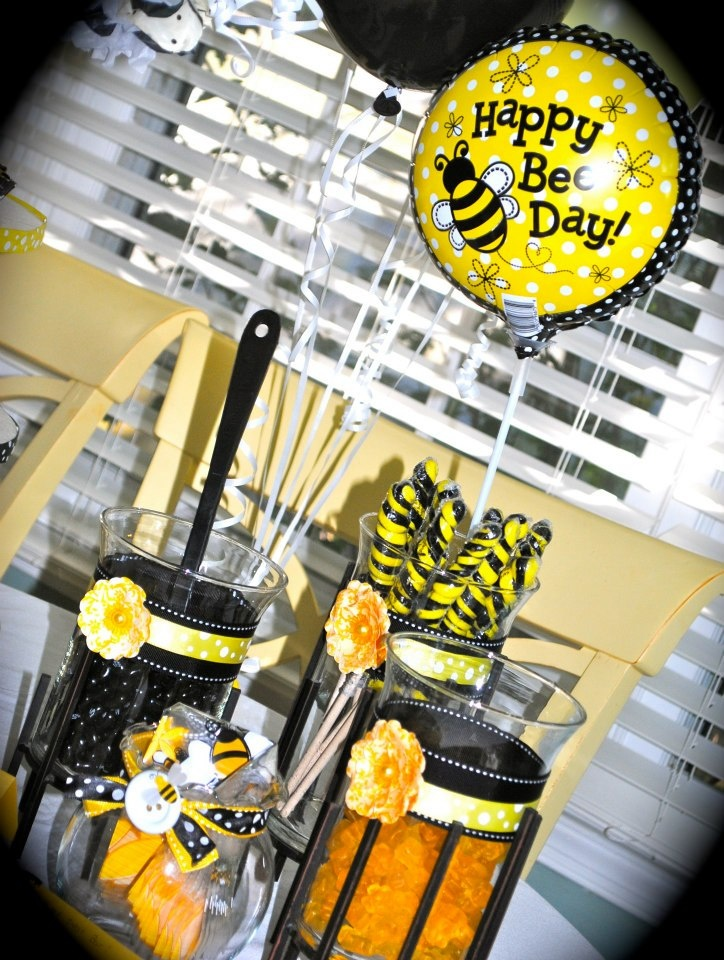 25 Best Bumble Bee Theme Party Images On Pinterest