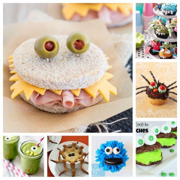 7 recetas para niños… ¡monstruosas!
