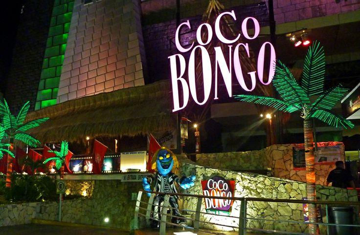 Famosa boate de Cancun, Cocobongo. #México. #Caribe #Viagem