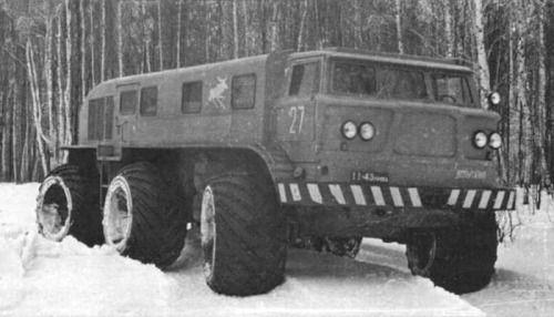 """1963   ZIL E167 (ЗИЛ Э167)   Source: 2010/04 """"Техника и вооружение вчера…"""