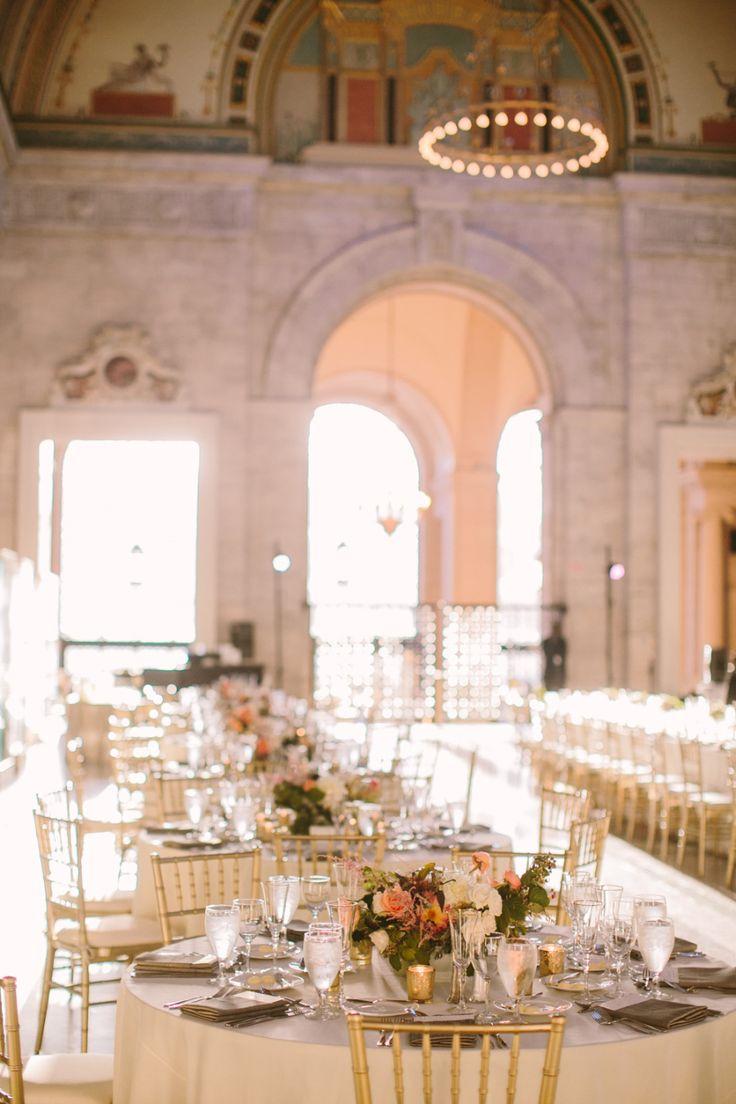 Detroit Institute of Arts Wedding - Style Me Pretty
