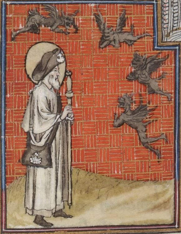 « La Legende dorée » [de JACQUES DE VORAGINE], traduction [de JEAN DE VIGNAY]  Date d'édition :  1404  Français 414   Folio 210v