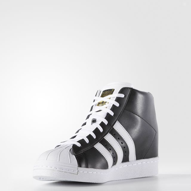 adidas Superstar UP Strap Women's Black Casual Shiekh Shoes
