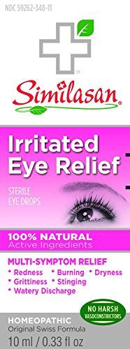 #vision Similasan's unique Active #Response Formula for Pink Eye #Relief stimulates the eye's natural ability to relieve the redness, watery discharge & burning a...
