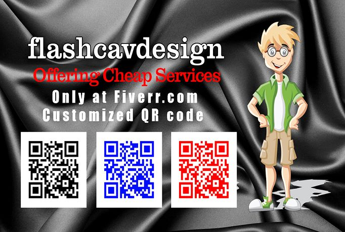 flashcavdesign: create a great QR code for a specific link or anything else you might want for $5, on http://fiverr.com/flashcavdesign/create-a-great-qr-code-for-a-specific-link-or-anything-else-you-might-want