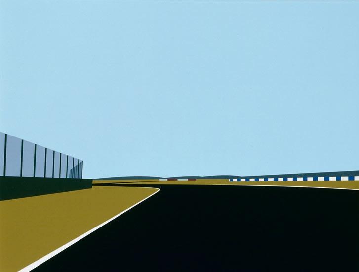 Julian Opie | Imagine You Are Driving