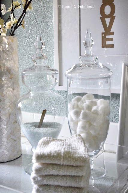 Bathroom Jar best 25+ apothecary jars bathroom ideas on pinterest | bath spa