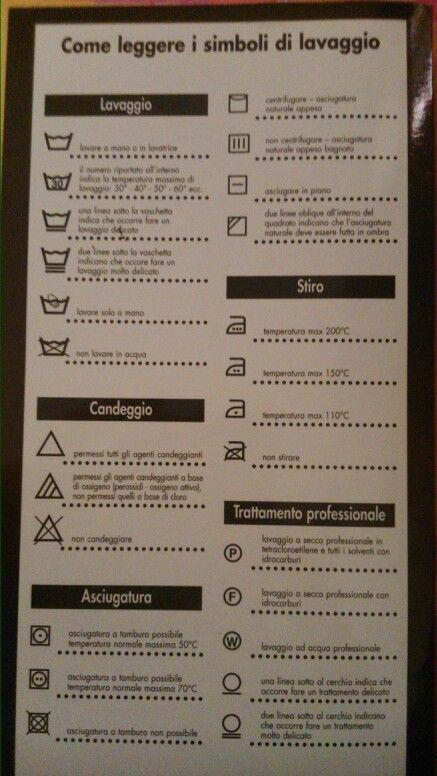 Consigli per il bucato