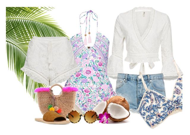 Island getaway by neongypsynz on Polyvore featuring OneTeaspoon, Vince and ASOS