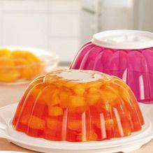Tupperware - Gelatina Colorida de Frutas