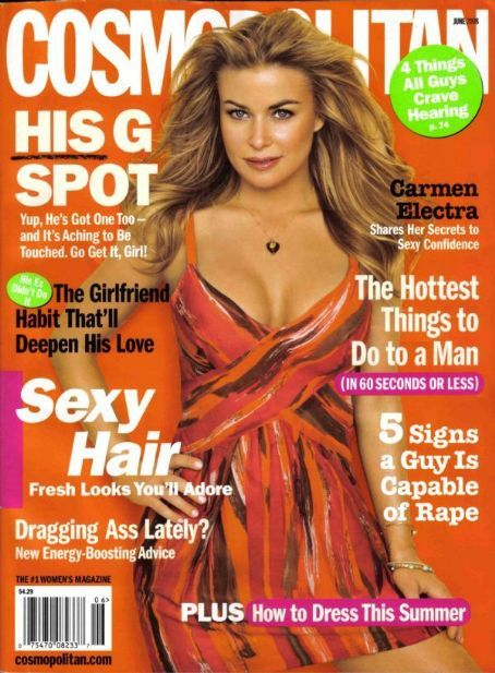 Carmen Electra - Cosmopolitan Magazine [United States] (June 2008)