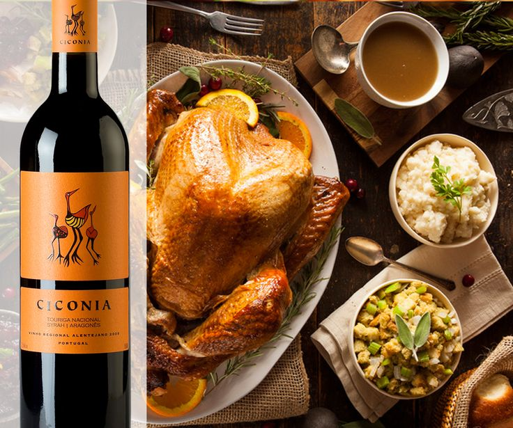 Ciconia crossed the Atlantic from #Alentejo to the USA just to wish a Happy #Thanksgiving to all! Drink and eat well.