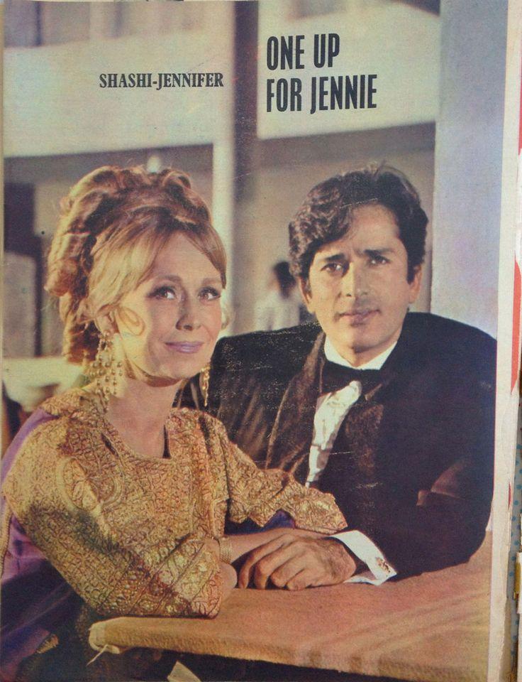 Shashi Kapoor in magazine (April 1970)