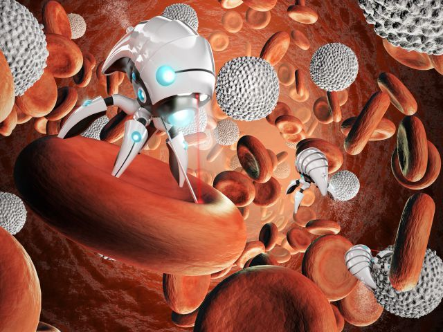 medical robots surgery nanobots