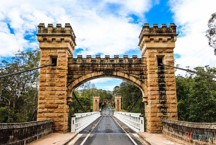 Hampden Bridge, Kangaroo Valley, NSW, Australia