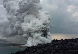 Un gran trozo de la Isla Grande de Hawái ha colapsado en el océano