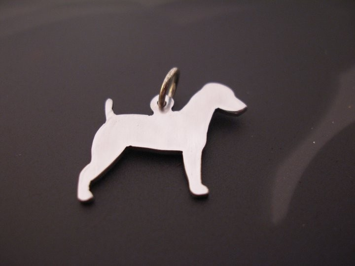 Jack Russell Terrier Pendant Solid Sterling Silver, £11.99
