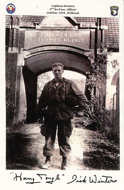 Marshall Ramsey's Death of a hero: Major Dick Winters. The real Band of Brother Member