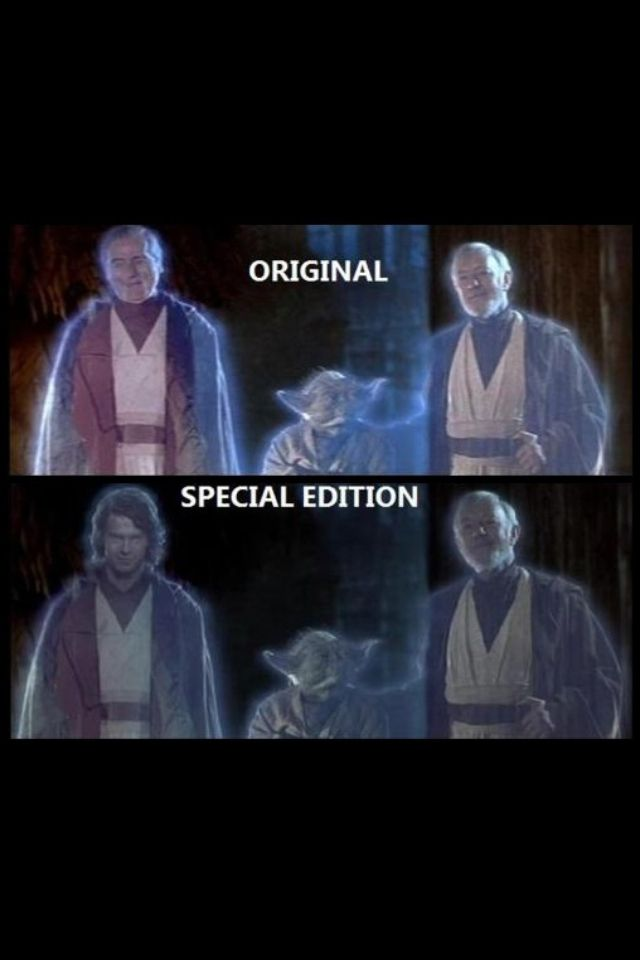 Somehow I always liked the Special Edition version better for some reason.