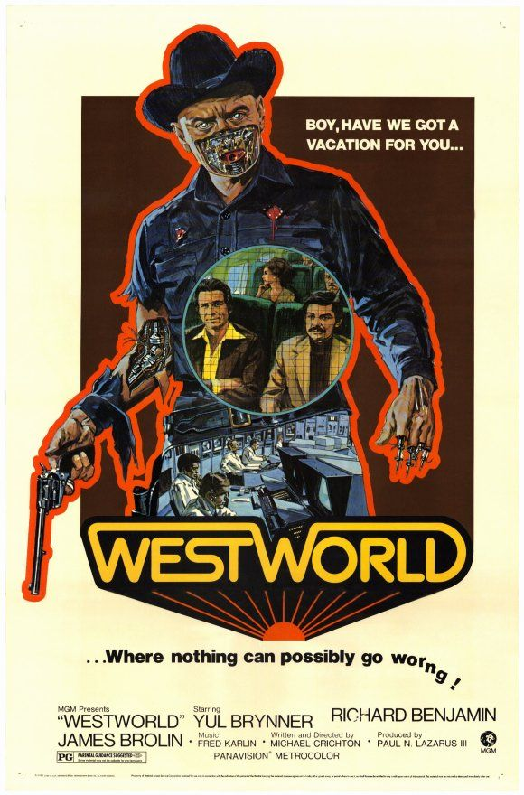 Westworld (1973) - 4/5 Creepy Yul Brenners