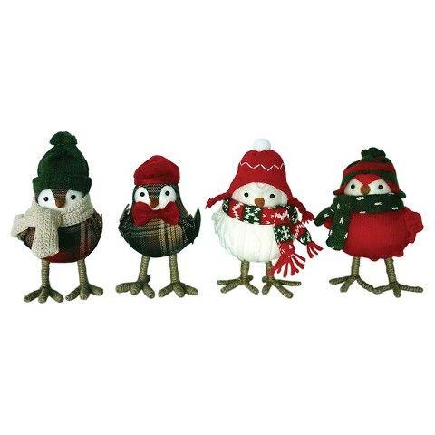 Holiday Knit Bird Assorted Target Christmas
