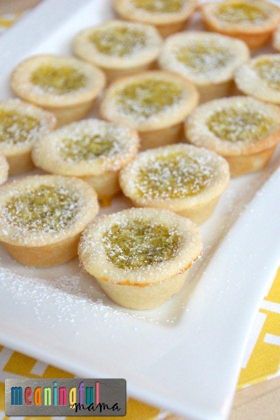 Key Lime Tartlets - Smaller Dessert Ideas - Finger Desserts