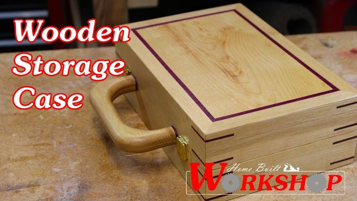 Here's a cool wooden storage case I made as a gift. Its made from white oak with purple heart accents. I really like the color combination between the 2 species of wood.  Check out my second channel called Inside Home Built Workshop.  If you enjoyed this video please give it a thumbs up and be sure to click the subscribe button so you dont miss any upcoming videos.  Visit my website at http://ift.tt/1YeRUSv or connect with me on social media.  http://ift.tt/1NCeeDo…