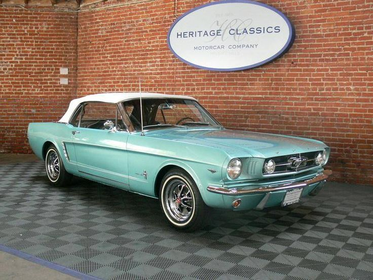 1965 Ford Mustang Convertible  -  Sweet