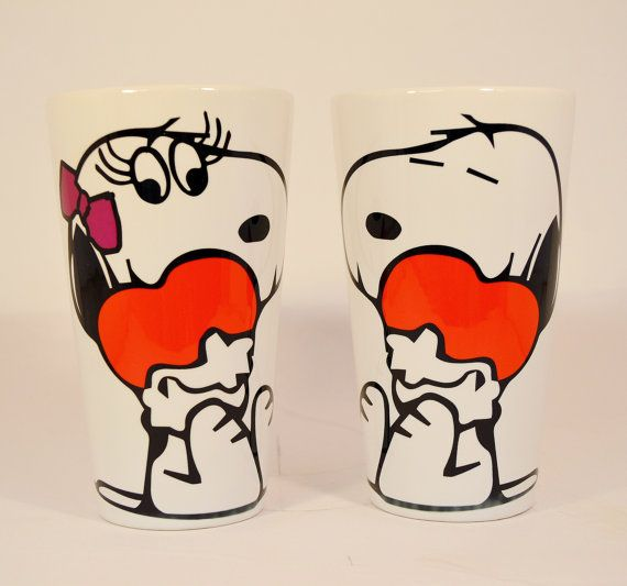 Hey, I found this really awesome Etsy listing at https://www.etsy.com/listing/264789683/snoopy-and-snoopys-girlfriend-latte