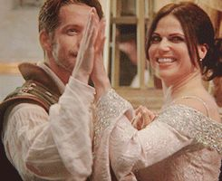 Outlaw Queen in Camelot, yep I will never not re-pin this.