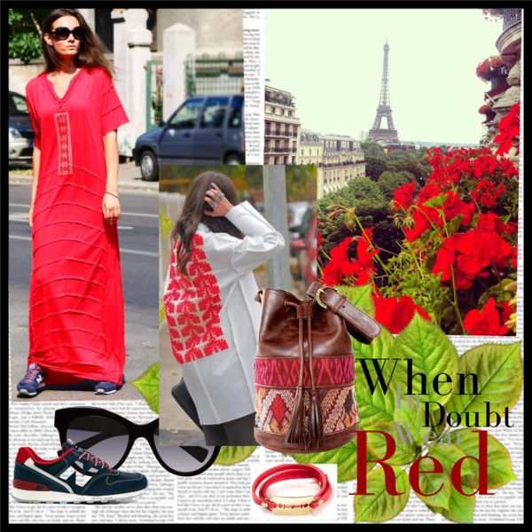 """""""When in doubt, wear RED"""" by adrianoianu on Polyvore"""