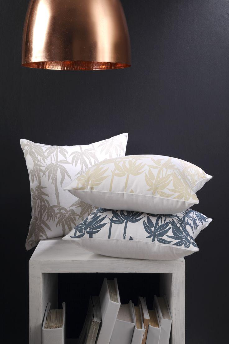 Bamboo cushions
