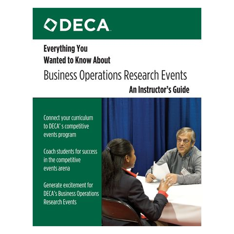Everything You Wanted to Know About Business Operations Research Events - An Instructor's Guide
