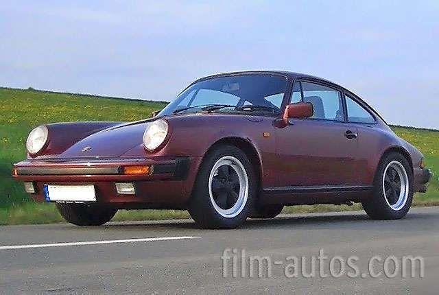 Porsche 911 Carrera Bj. 1986 f�r Film, Foto und Events mieten