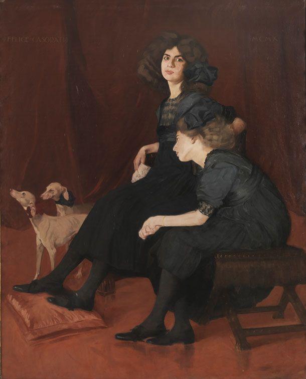 Felice Casorati - Le ereditiere o Le sorelle  http://www.mart.tn.it/magnificaossessione