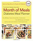#healthyliving The American Diabetes Association Month of Meals Diabetes Meal Planner