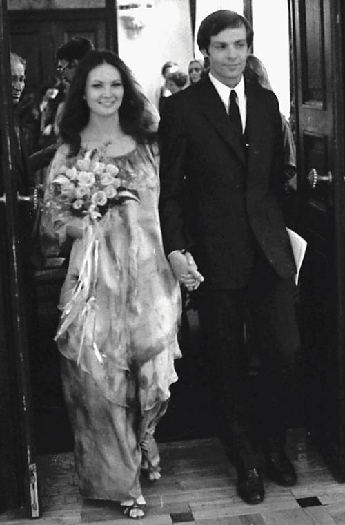 Ślub Anny Dymnej i Zbigniewa Szot, 1982, krakowski Pałac Ślubów